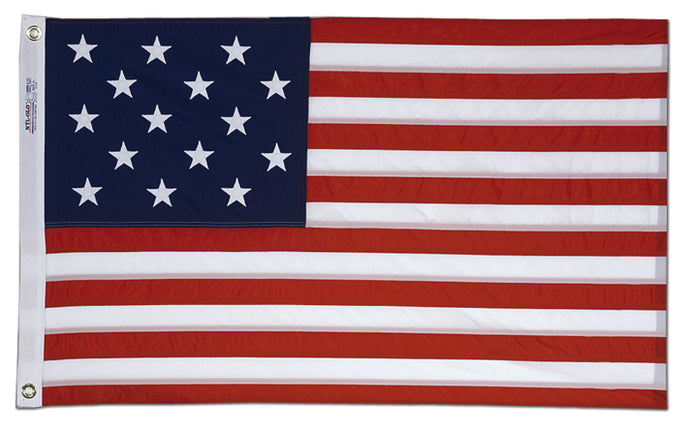 2x3 Star Spangled Banner Printed Historical Nylon Flag