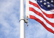 Load image into Gallery viewer, 20' Silver Telescoping Flagpole