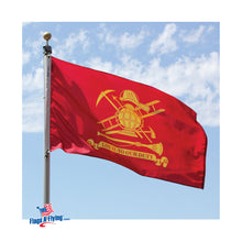 Load image into Gallery viewer, 3x5 Loyal to Our Duty Firefighter Outdoor Nylon Flag
