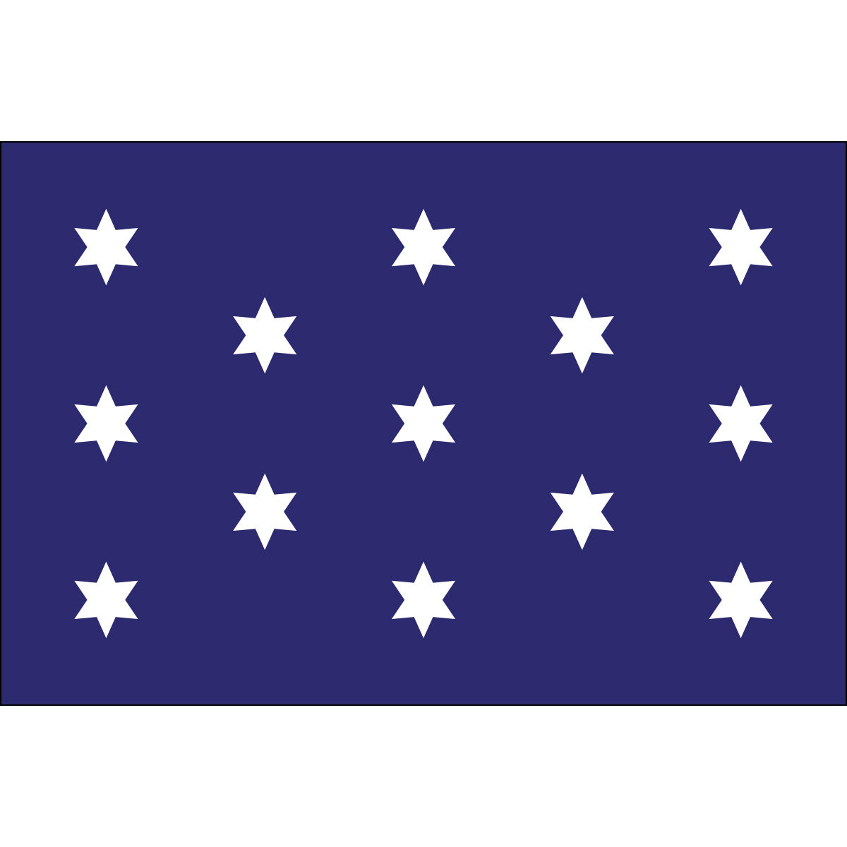 Load image into Gallery viewer, 4x6 Washington's Commander in Chief Historical Nylon Flag