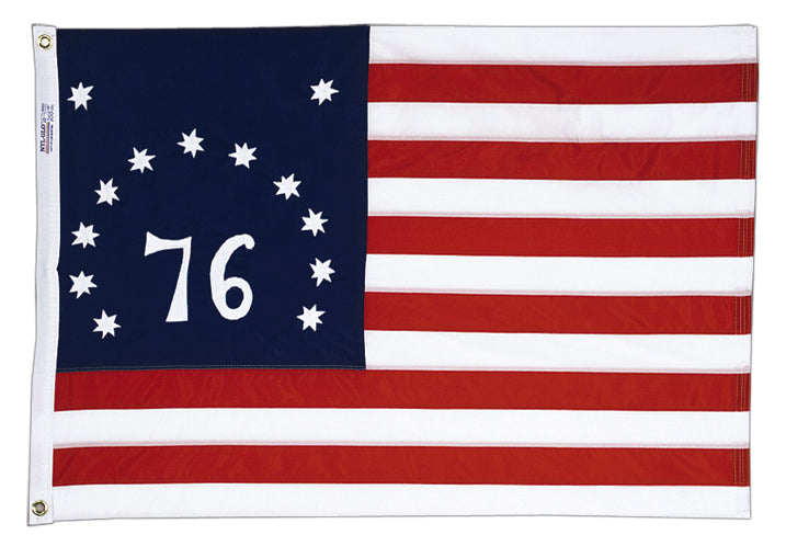 Load image into Gallery viewer, 3x5 Bennington Historical Cotton Flag