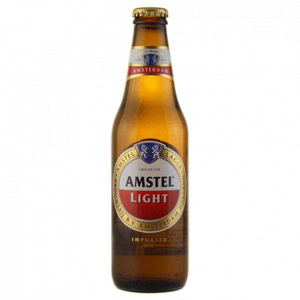 Amstel Light 12oz Beer Bottle