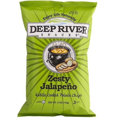 Deep River Zesty Jalepeno Chips