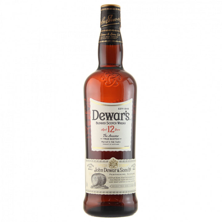 Dewar's Blended Scotch Whisky 12 Years 750ml