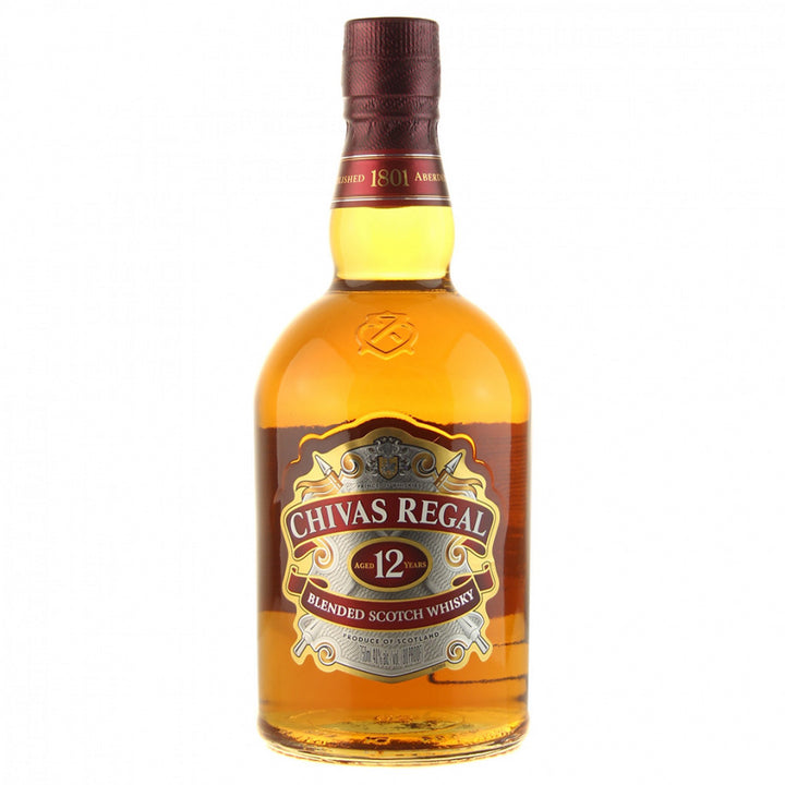 Chivas Regal 12 Year Whisky 750ml