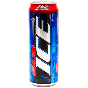 Bud ICE 25oz Can