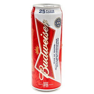 Budweiser 25oz Can