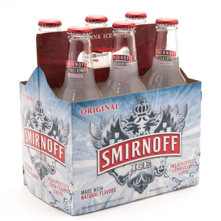 Smirnoff Ice 11.2oz Bottle 6 Pack