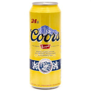 Coors Banquet 24oz Can