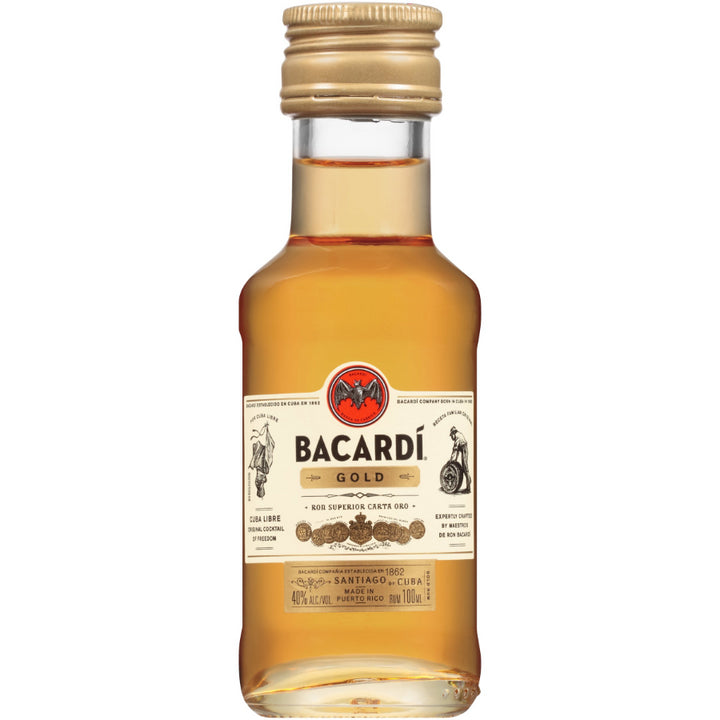 Bacardi Gold Rum 100ml