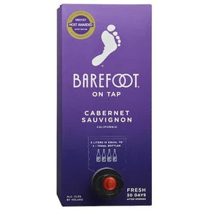 Barefoot On Tap Cabernet Sauvignon 3L Box