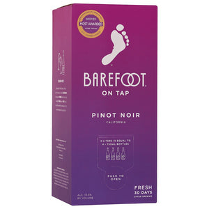 Barefoot On Tap Pinot Noir 3L Box