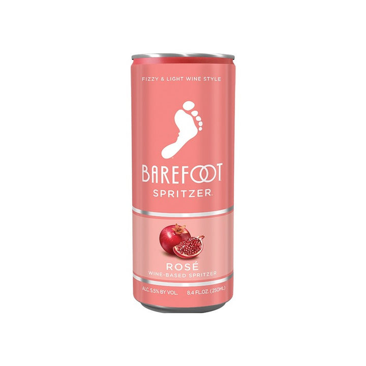 Barefoot Spritzer Rose 8.4oz Can