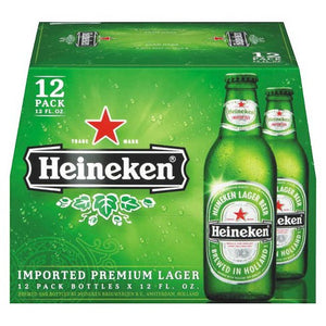 Heineken Lager 12oz Bottle 12 Pack