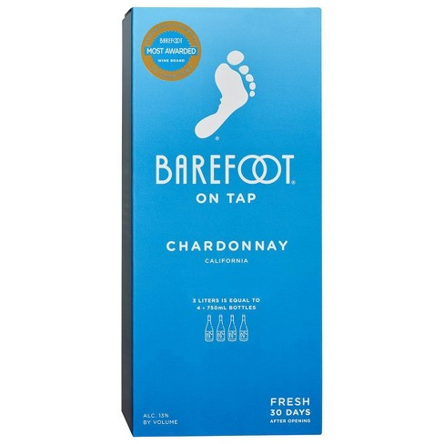 Barefoot On Tap Chardonnay 3L Box