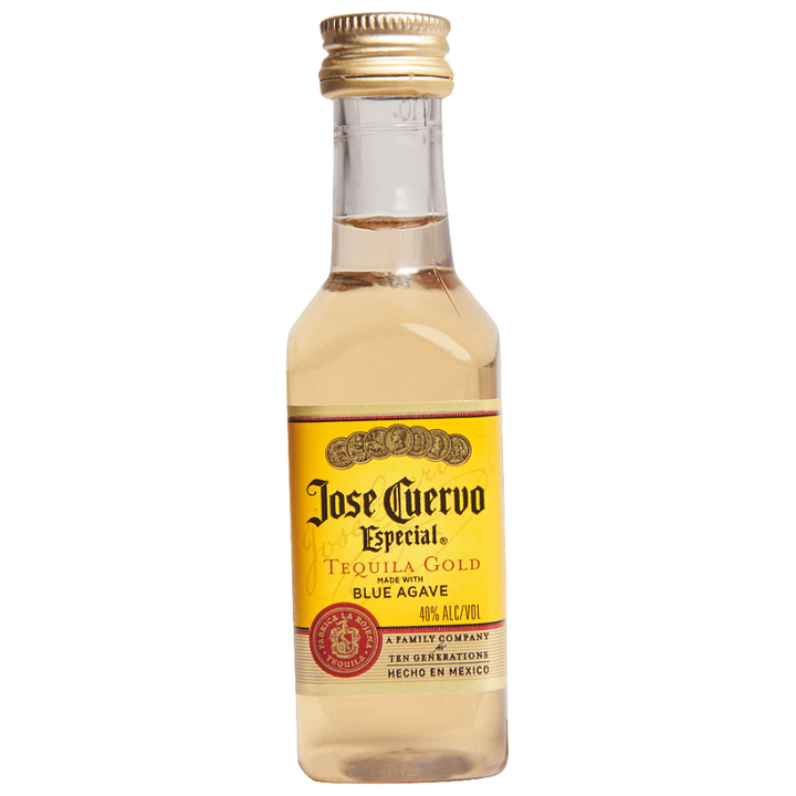 Jose Cuervo Especial Gold Tequila 50mL