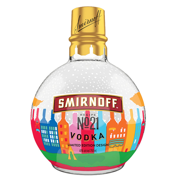 Smirnoff Vodka Holiday Ornament 750ml