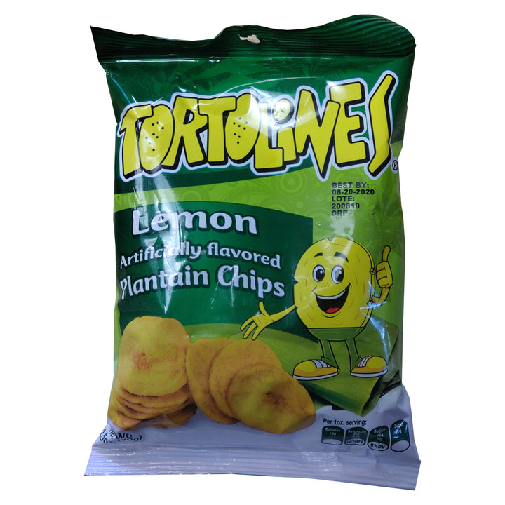 Tortolines Lemon Plaintain Chips