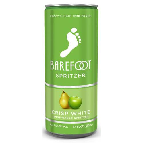 Barefoot Spritzer Crisp White 8.4oz Can