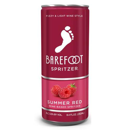 Barefoot Spritzer Summer Red 8.4oz Can