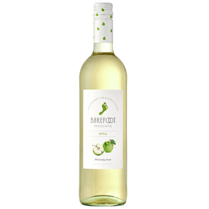 Barefoot Apple Moscato 750ml