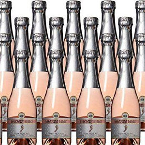 Barefoot Bubbly Pink Moscato Champagne 187ml 24 Pack
