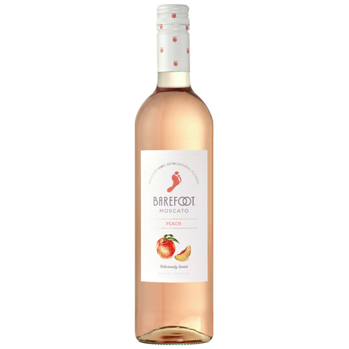 Barefoot Peach Moscato 750ml