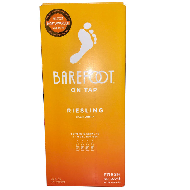 Barefoot Riesling Box 3L