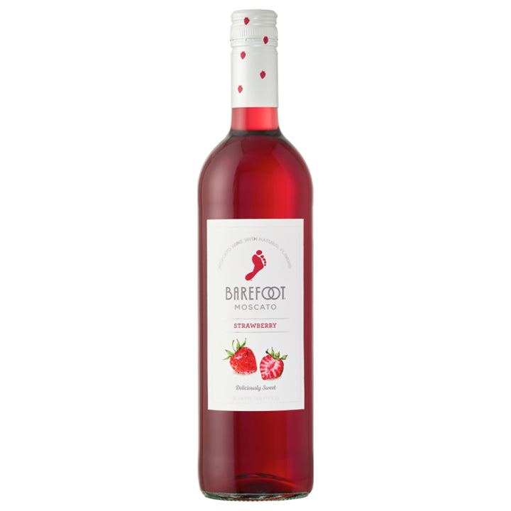Barefoot Strawberry Moscato 750ml