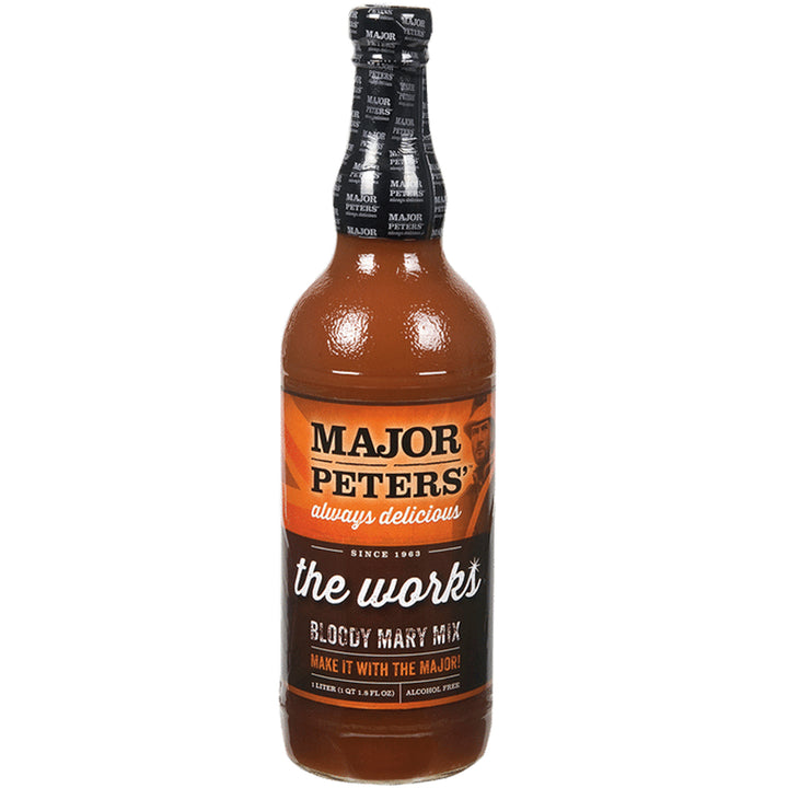 Major Peter's The Works Bloody Mary Mix 1L
