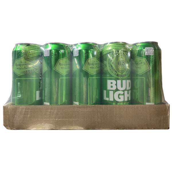 Bud Light Lime 25 oz Can 15 Pack