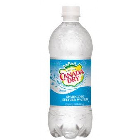 Canada Dry Seltzer Water 20oz