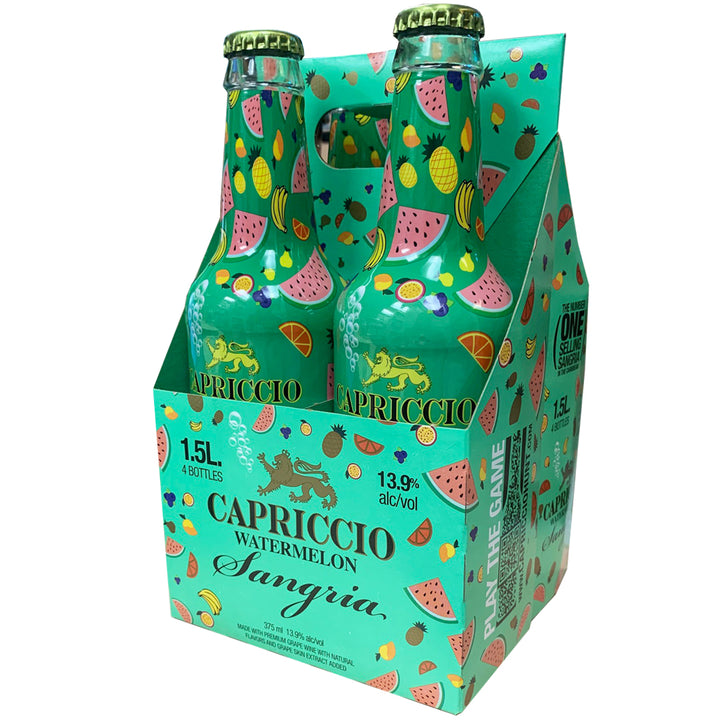 Capriccio Watermelon Sangria 375ml 4 Pack