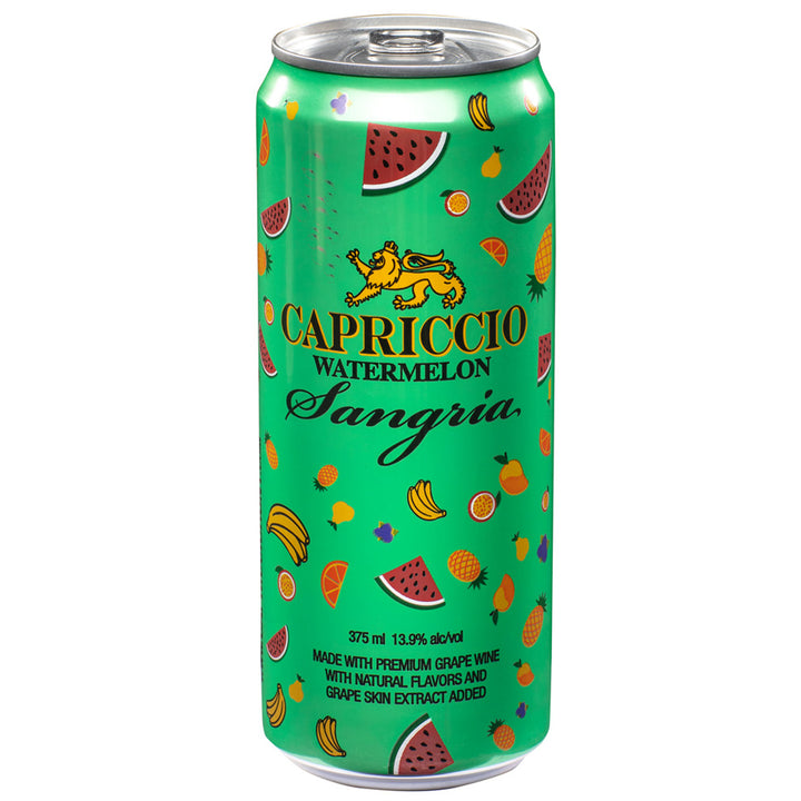 Capriccio Watermelon Sangria Can 375ml