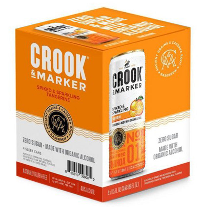 Crook & Marker Tangerine 11.5oz Can 4 Pack