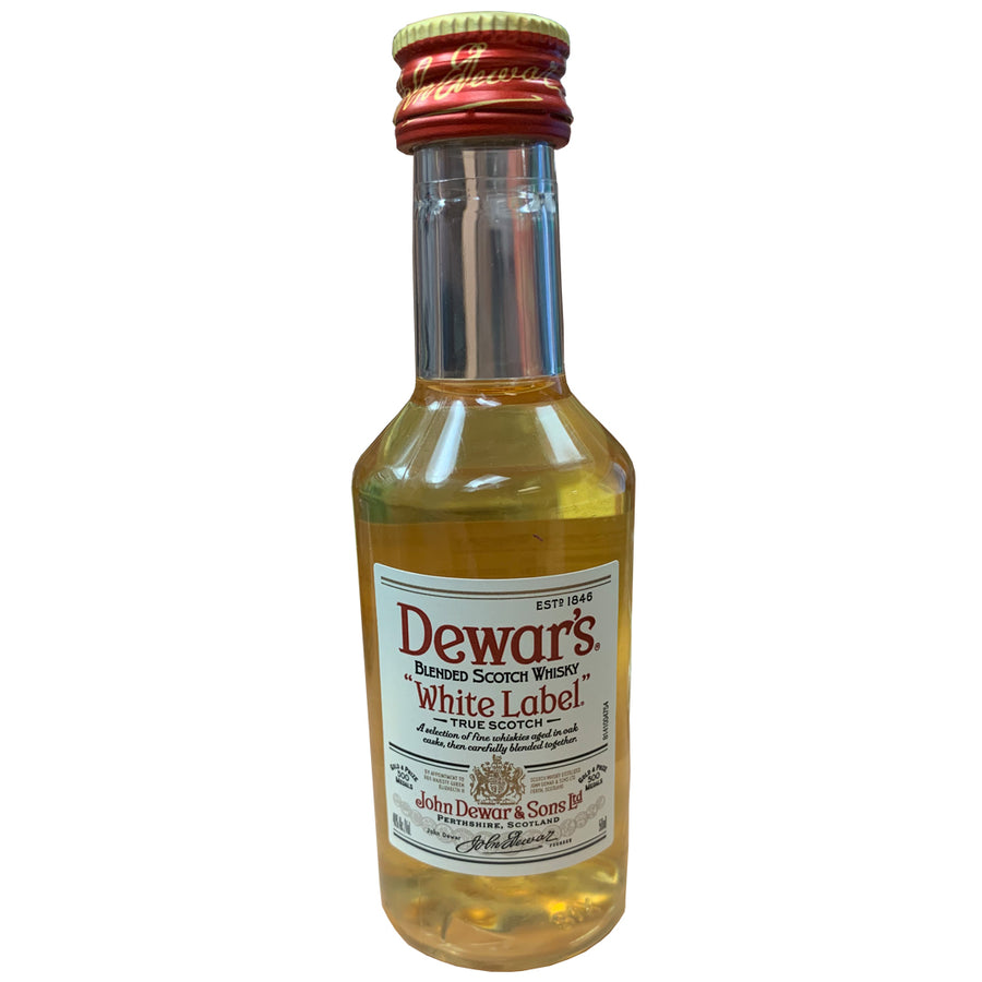 Dewar's White Label Scotch Whisky 50ml