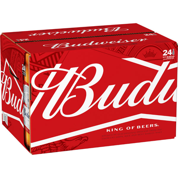 Budweiser 12oz Bottle 24pk