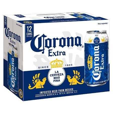 Corona Extra 12oz Can 12 Pack
