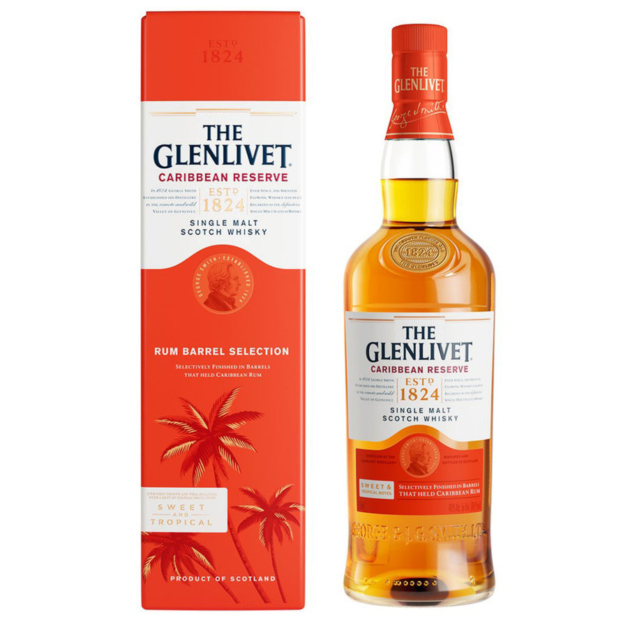 The Glenlivet Caribbean Reserve 750ml