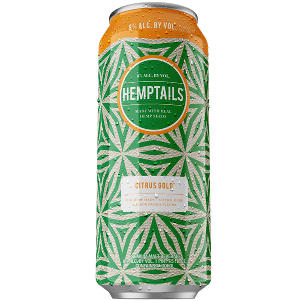 Hemptails Citrus Gold 24oz Can