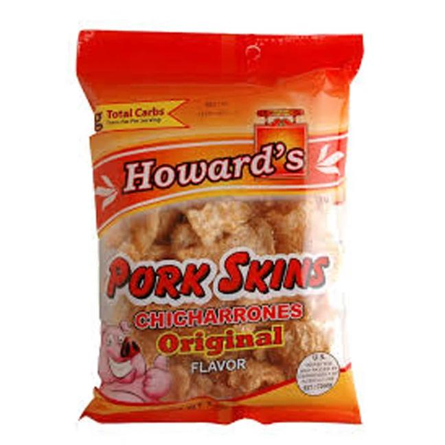 Howard's Fried Pork Skins