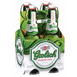 Grolsch Premium Lager 15.2oz Bottle 4 Pack