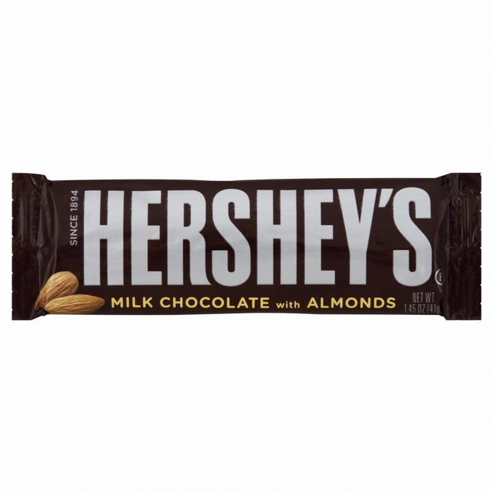 Hershey's with Almond Chocolate Candy Bar