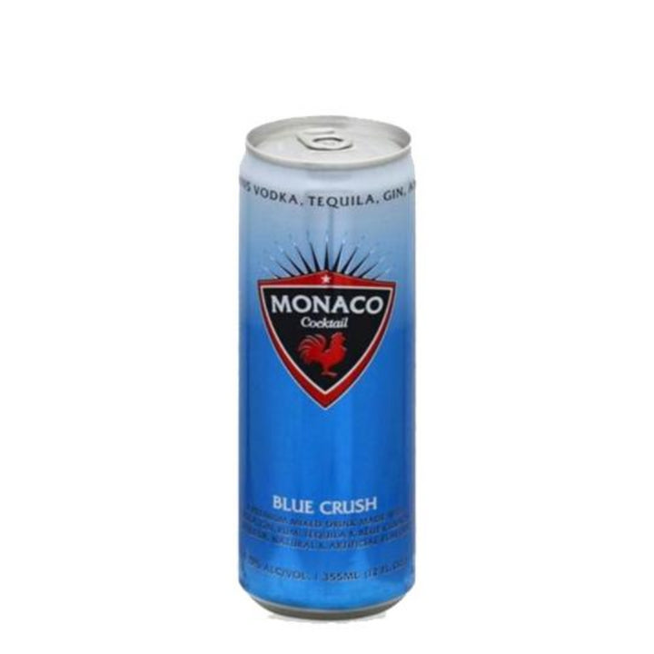 Monaco Blue Crush Cocktail 12oz