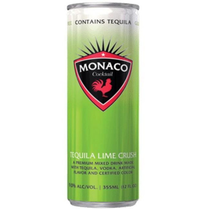 Monaco Tequila Lime Crush Cocktail 12oz