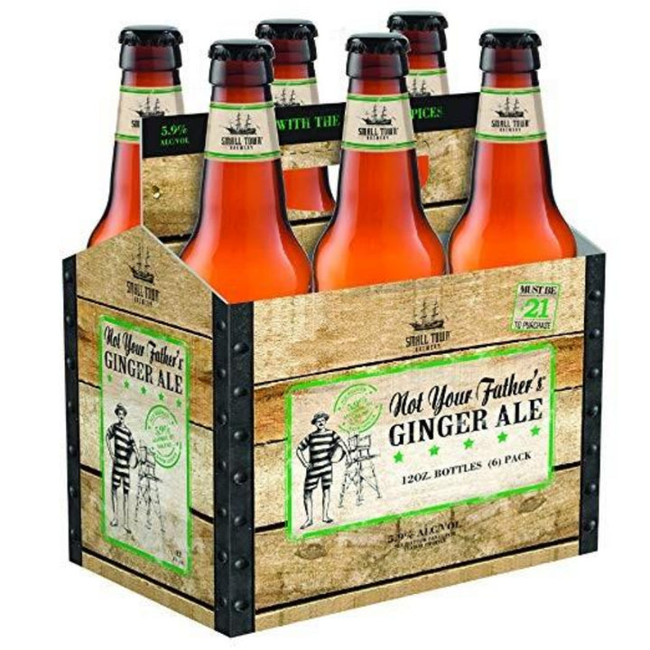 Not Your Father's Ginger Ale 12oz Bottle 6 pack