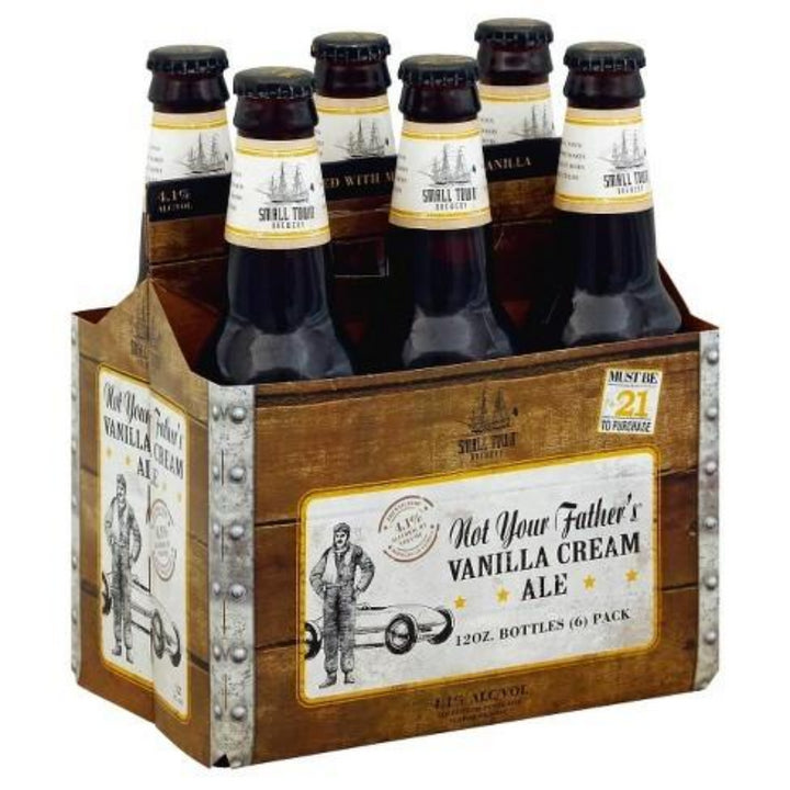 Not Your Father's Vanilla Cream Ale 12oz Bottle 6 Pack