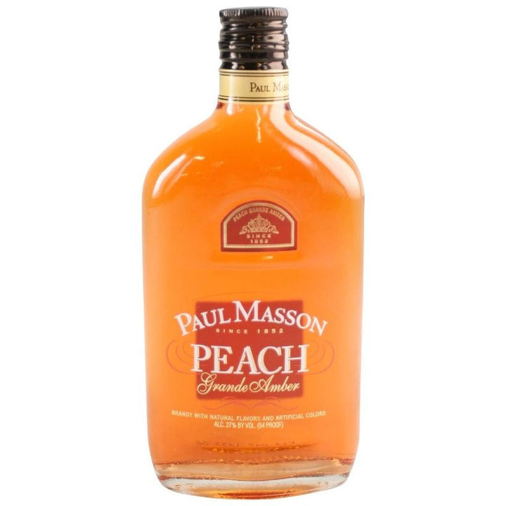 Paul Masson Grande Amber Peach Brandy 375ml