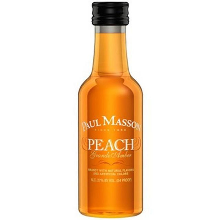 Paul Masson Grande Amber Peach Brandy 50ml