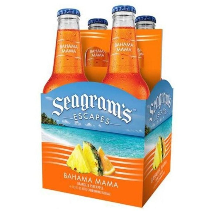 Seagram's Escapes Bahama Mama 11.2oz Bottles 4 Pack